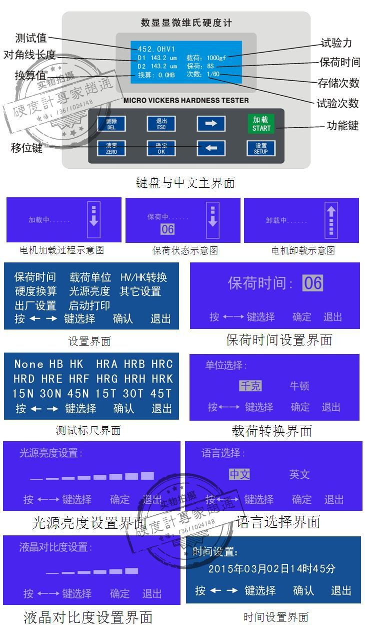 HVS-1000显微龙8国际娱乐手机客户端功能介绍图片